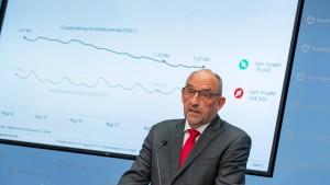 2,2 Millionen Arbeitslose in Deutschland