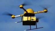 DHL testet Paketkopter