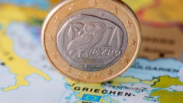 Griechenland sorgt sich um seine Finanzhilfen
