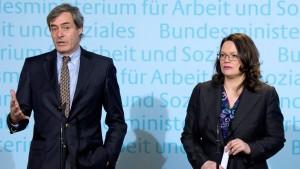 """SPD-Nahles: """"Das ist ein Angriff auf meine Person"""""""