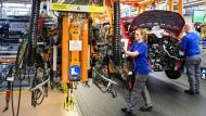 Gut beschäftigt: VW-Werk in Hannover