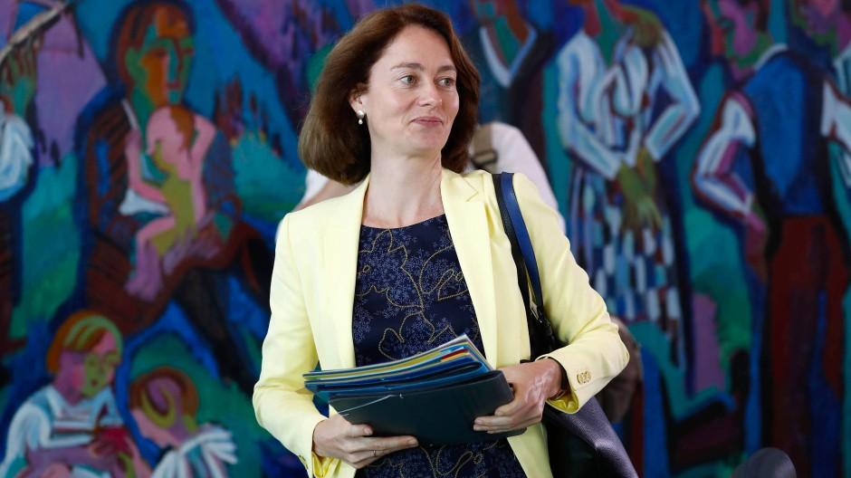Katarina Barley (SPD): Die zuständige Bundesministerin ist unzufrieden mit dem Frauenanteil in den Vorständen.