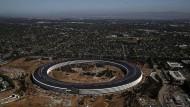 der Apple-Sitz in Cupertino.