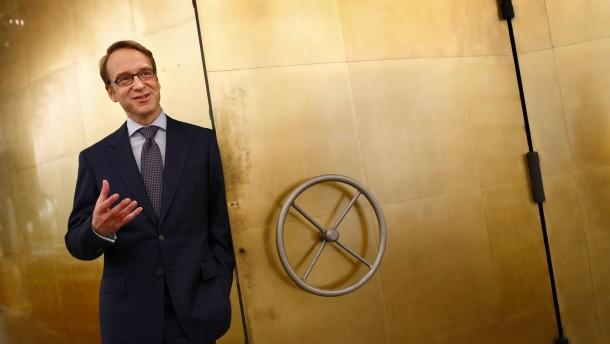 Germany's federal reserve Bundesbank President Jens Weidmann poses for a photograph in Frankfurt