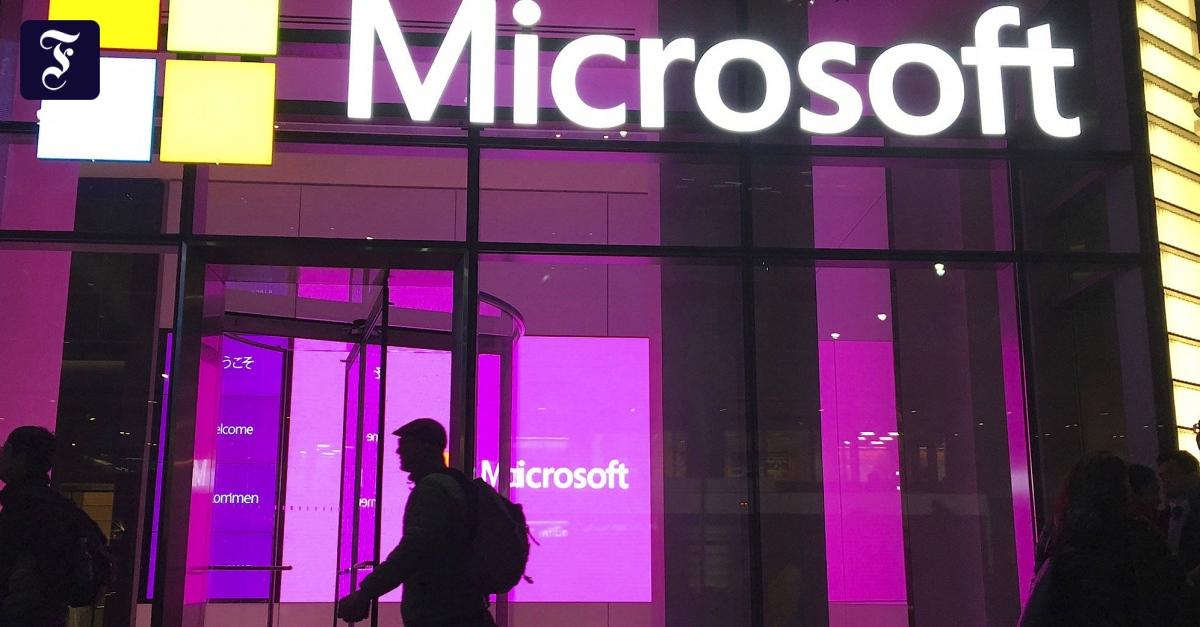 Hacking-Angriff auf Microsoft-Software - FAZ - Frankfurter Allgemeine Zeitung