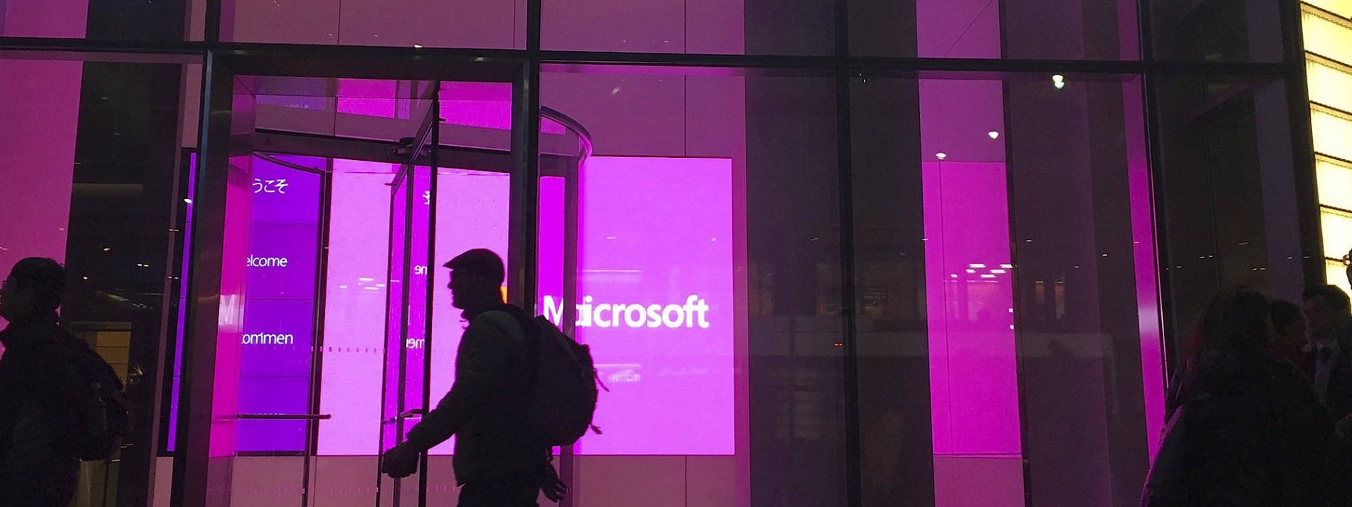 Hacking-Angriff auf Microsoft-Software