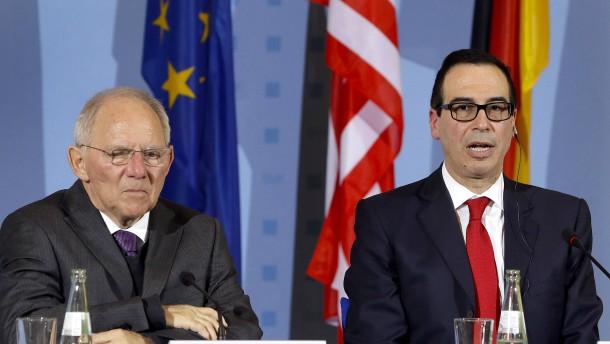 Amerikas Finanzminister: Wir wollen keinen Handelskrieg