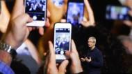 Nicht sicher vor der CIA: Das iPhone aus dem Hause von Apple-Chef Tim Cook