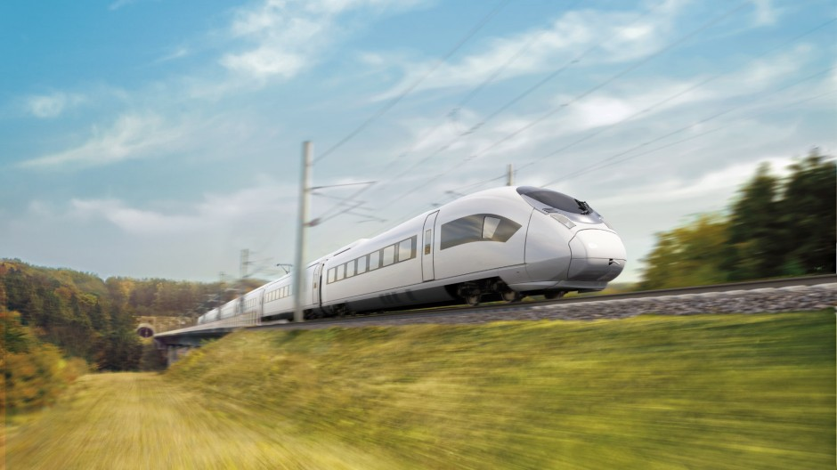 Der Velaro von Siemens soll bald durch Ägypten rauschen.
