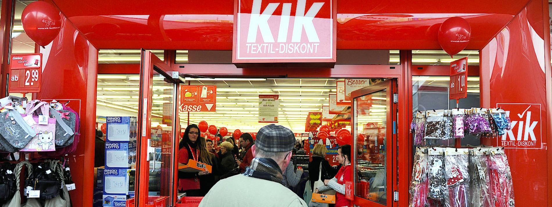 Noch mehr Kik-Läden in deutschen Einkaufsstraßen