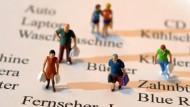 Die deutschen Konsumenten haben weniger Lust darauf, Geld auszugeben.