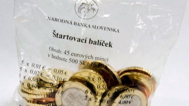 Slowakei bekommt mit dem Jahreswechsel den Euro
