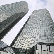 Am Freitag besonders stark unter Druck waren die Aktien der Deutschen Bank.