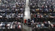 Amazon beschäftigt weniger Weihnachtsaushilfen als 2013