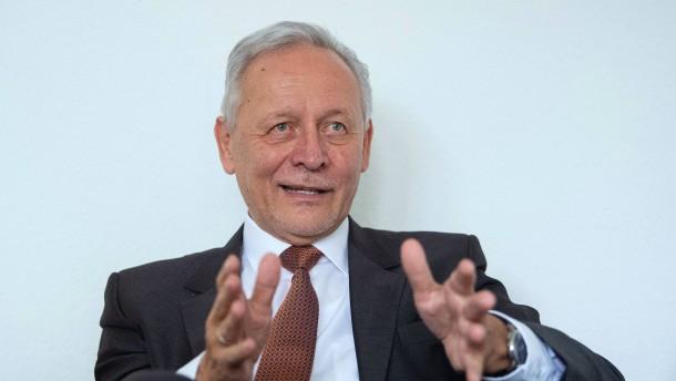 Wolfgang Grenke kann Anleger nicht überzeugen