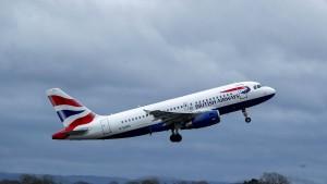 British Airways setzt Flüge nach China aus