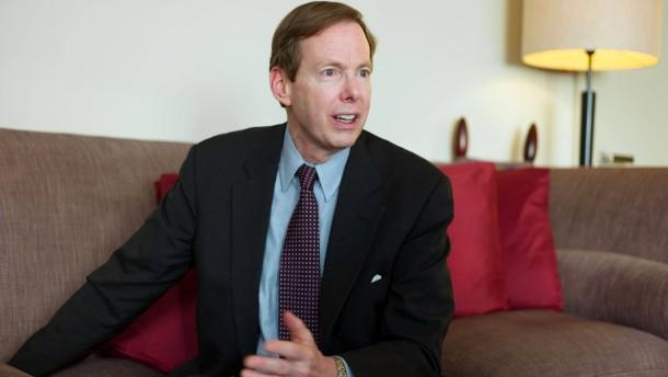 Sean Egan - Der Gründer der amerikanischen Ratingagentur Egan Jones stellt sich in Frankfurt den Fragen von Dennis Kremer