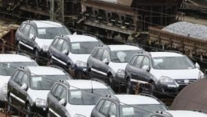 Der deutsche Pkw-Export bricht ein