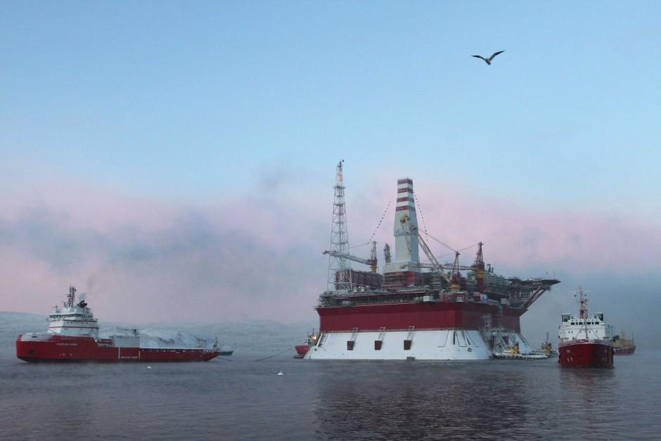 Russland fördert bereits Öl in der Arktis
