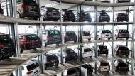 Besonders Volkswagen-Autos sollen für den Schlüssel-Hack anfällig sein.