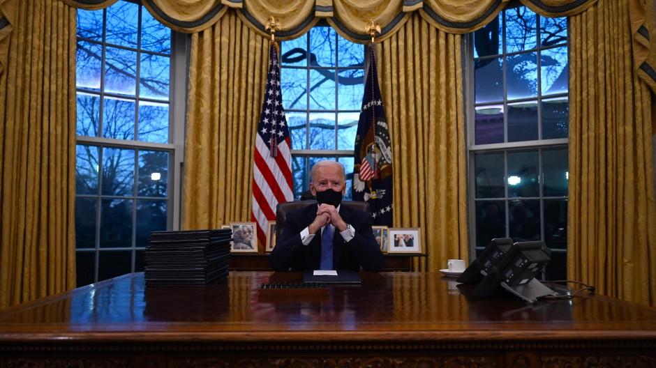 Joe Biden im Oval Office