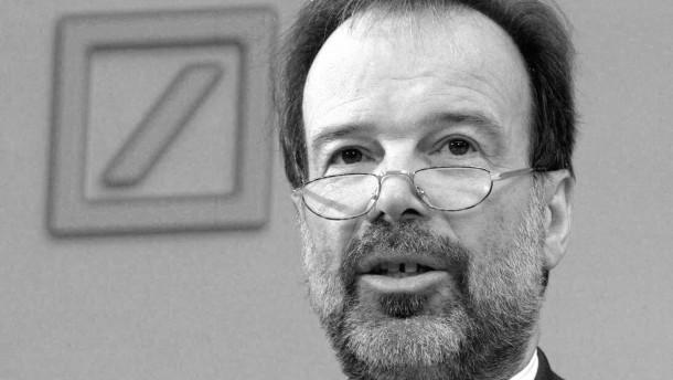Norbert Walter ist tot