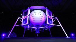 Jeff Bezos zeigt seine Mondlandefähre