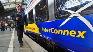 Bahn-Konkurrent Interconnex gibt auf