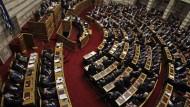 Das Parlament in Athen hat dem Haushaltsentwurf für 2016 zugestimmt.