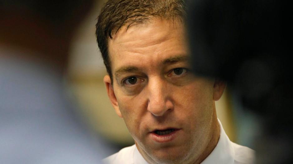 Kündigte spektakuläre neue Erkenntnisse an: Der Journalist Glenn Greenwald