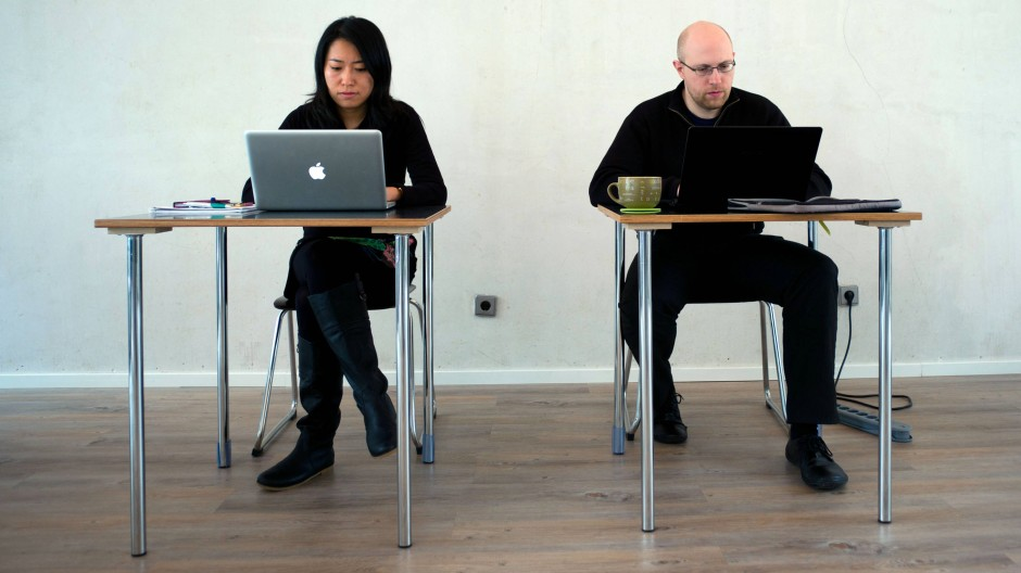 Bei Selbständigen sehr beliebt: Co-Working-Räume.