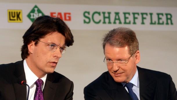 Schaeffler-Chef Geißinger geht im Unfrieden