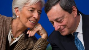 IMF and ECB Finance conference in Paris