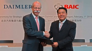 Daimler buys BAIC shares