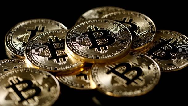 Bitcoin steigt erstmals auf 60.000 Dollar