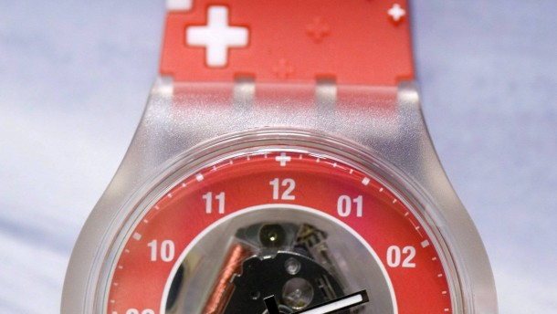 Uhrenkonzern Swatch schafft Rekordgewinn