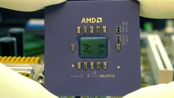 Chiphersteller AMD mit dramatischem Umsatzeinbruch