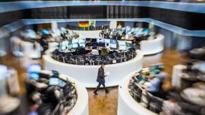 Anleihen-Ausverkauf drückt Dax ins Minus