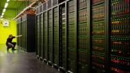 Daten, Daten, Daten: Auch an deutschen Hochschulen stehen Superrechner. Zum Beispiel dieser an der TU Dresden.