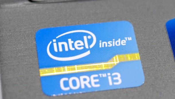 Umsatz und Gewinn von Intel geschrumpft