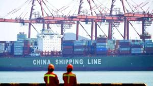 Chinas Export mit stärkstem Anstieg seit 2015