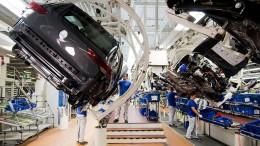 Deutsche Wirtschaft drosselt ihre Produktion