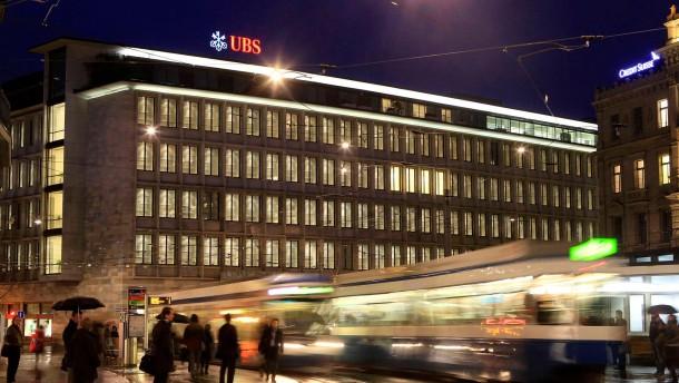 Schweizer Großbank UBS macht Milliardenverlust
