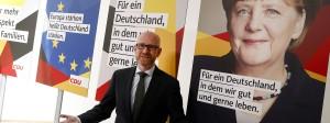 Peter Tauber hat gerade auch die Wahlplakate der CDU präsentiert.