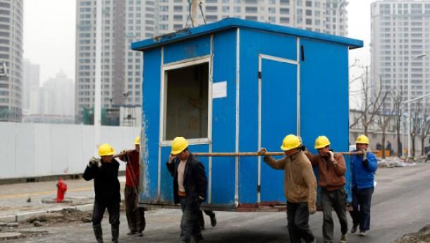 Chinas Wirtschaft wächst rasant