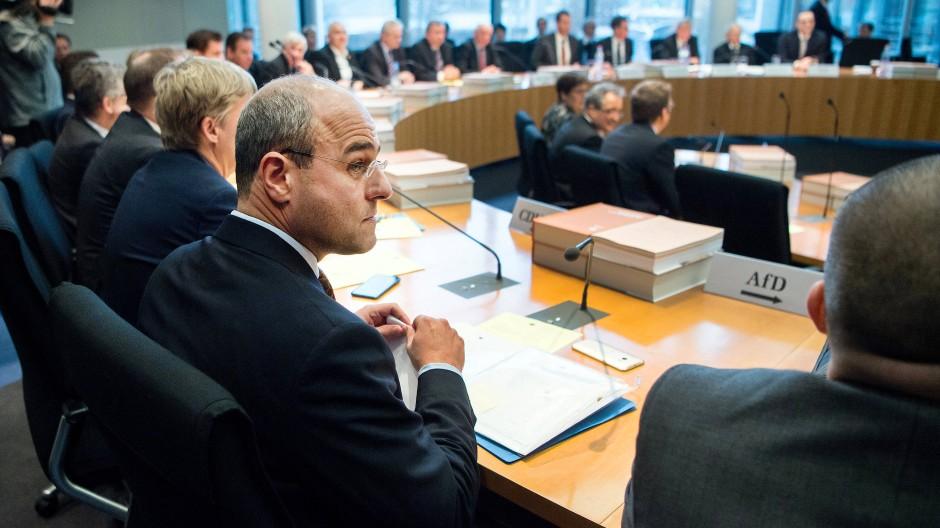 Der AfD-Politiker Peter Boehringer leitet den Haushaltsausschuss des Deutschen Bundestags.