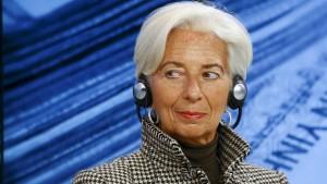 Wieder Lagarde? Lieber nicht.