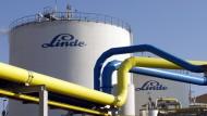 Linde leidet unter der Schwäche der Öl- und Gasbranche