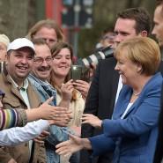 """Für den Bürgerdialog """"Gut leben in Deutschland"""" war die Kanzlerin im vergangenen Jahr auch in Duisburg."""