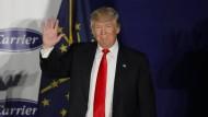Deutsche Firmen in Sorge nach Trump-Wahl